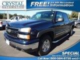 2006 Dark Blue Metallic Chevrolet Silverado 1500 Z71 Crew Cab 4x4 #73485066