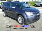 2013 Atlantis Blue Metallic Chevrolet Equinox LT #73484962