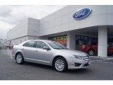2011 Ingot Silver Metallic Ford Fusion Hybrid #73484720