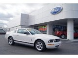 2007 Performance White Ford Mustang V6 Premium Coupe #73484718