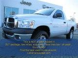 2007 Bright White Dodge Ram 1500 SLT Regular Cab 4x4 #73484716