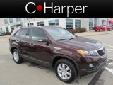 2011 Dark Cherry Kia Sorento LX AWD #73484479