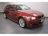 2011 Vermillion Red Metallic BMW 3 Series 328i Sedan #73484945