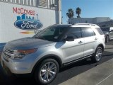 2013 Ingot Silver Metallic Ford Explorer XLT #73484595