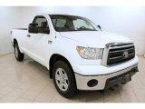 2010 Super White Toyota Tundra Regular Cab 4x4 #73485012
