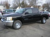 2013 Black Chevrolet Silverado 1500 LS Crew Cab 4x4 #73539060