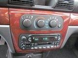 2002 Chrysler Sebring LX Sedan Controls