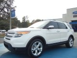 2011 White Platinum Tri-Coat Ford Explorer Limited #73538594