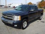2010 Imperial Blue Metallic Chevrolet Silverado 1500 LT Extended Cab #73538869
