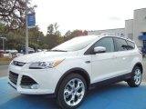 2013 White Platinum Metallic Tri-Coat Ford Escape Titanium 2.0L EcoBoost #73538575