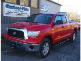 2007 Radiant Red Toyota Tundra SR5 Double Cab 4x4 #73538673