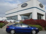 2013 Deep Impact Blue Metallic Ford Fusion SE 1.6 EcoBoost #73538502