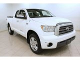 2007 Super White Toyota Tundra Limited Double Cab 4x4 #73538853