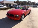 2007 Torch Red Ford Mustang V6 Premium Convertible #73538749