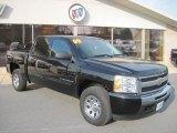 2009 Black Chevrolet Silverado 1500 LT Crew Cab 4x4 #73538830