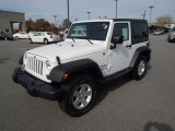 2012 Bright White Jeep Wrangler Sport S 4x4 #73538907