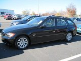 2007 Jet Black BMW 3 Series 328i Wagon #73538809
