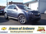 2013 Atlantis Blue Metallic Chevrolet Equinox LT #73581381