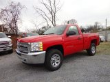 Victory Red Chevrolet Silverado 1500 in 2013
