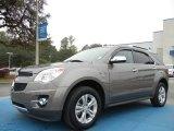2010 Mocha Steel Metallic Chevrolet Equinox LTZ #73581263