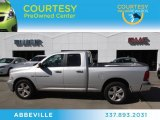 2012 Bright Silver Metallic Dodge Ram 1500 Big Horn Quad Cab #73581696