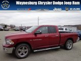 2011 Deep Cherry Red Crystal Pearl Dodge Ram 1500 Big Horn Quad Cab 4x4 #73581371