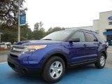 2013 Deep Impact Blue Metallic Ford Explorer FWD #73581258
