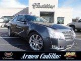 2009 Thunder Gray ChromaFlair Cadillac CTS 4 AWD Sedan #73581038