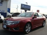 2010 Sangria Red Metallic Ford Fusion Sport #73581799