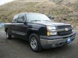 2005 Dark Blue Metallic Chevrolet Silverado 1500 LS Extended Cab #73581684