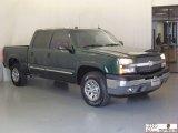 2005 Dark Green Metallic Chevrolet Silverado 1500 LT Crew Cab 4x4 #73581460