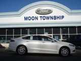 2013 White Platinum Metallic Tri-coat Ford Fusion SE 1.6 EcoBoost #73581350