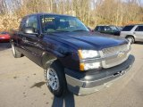 2005 Dark Blue Metallic Chevrolet Silverado 1500 Extended Cab 4x4 #73581344