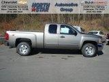 2013 Graystone Metallic Chevrolet Silverado 1500 LT Extended Cab 4x4 #73581342