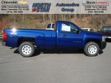 2013 Blue Topaz Metallic Chevrolet Silverado 1500 Work Truck Regular Cab 4x4 #73581339
