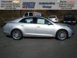 2013 Silver Ice Metallic Chevrolet Malibu LT #73581336