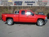 2013 Victory Red Chevrolet Silverado 1500 LT Extended Cab 4x4 #73581333