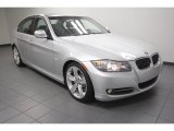 2009 Titanium Silver Metallic BMW 3 Series 335i Sedan #73581564