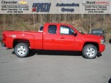 2013 Victory Red Chevrolet Silverado 1500 LT Extended Cab 4x4 #73581330