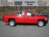 2013 Victory Red Chevrolet Silverado 1500 Work Truck Regular Cab #73581324