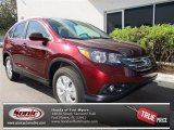 2013 Basque Red Pearl II Honda CR-V EX-L AWD #73581072