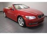 2011 Crimson Red BMW 3 Series 328i Convertible #73581559
