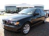 2004 Jet Black BMW 3 Series 325i Sedan #7360343