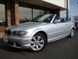 2006 Titanium Silver Metallic BMW 3 Series 325i Convertible #7353170