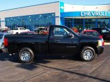 2011 Black Chevrolet Silverado 1500 LS Regular Cab #73581168