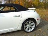 Alabaster White Chrysler Crossfire in 2006