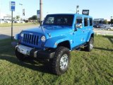 2011 Cosmos Blue Jeep Wrangler Unlimited Sahara 4x4 #73581510