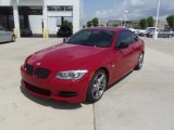 2011 Crimson Red BMW 3 Series 335is Coupe #73581506