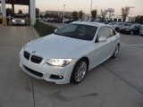 2013 Mineral White Metallic BMW 3 Series 335i Coupe #73581503
