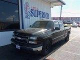 2006 Black Chevrolet Silverado 1500 LS Extended Cab #73633356